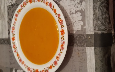 Soupe potimarron au curry