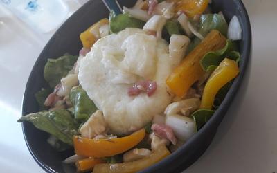 Salade composée estivale