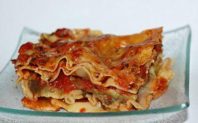 Lasagnes aubergine-mozza