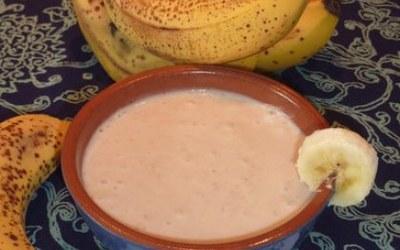 Crème déssert à la banane