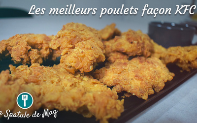 Poulets frits (Façon KFC)