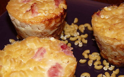 Muffins de petites pâtes