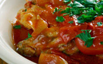poulet Marengo ( recette authentique)