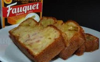 cake au maroille  & lardons ( recette 100% TCHI)