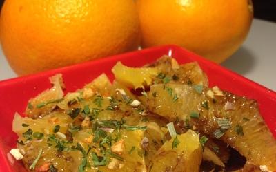 Salade d'orange