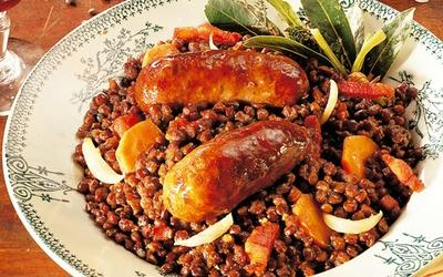 Saucisses-Lentilles