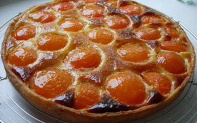 tarte aux abricots et amandes