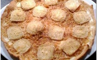 tarte fine chèvre/miel