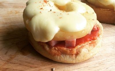 Muffin-zaza (roquefort et hawaienne)