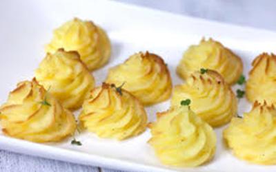 pommes de terre Duchesse pour soir de fêtes