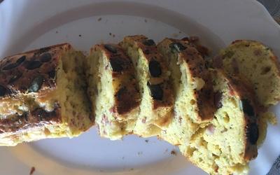 Cake lardons/raclette