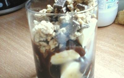 Bananochocolat en crumble