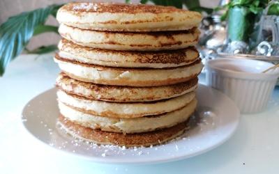 Pancakes à la semoule Coco/Citron