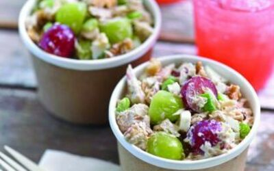 Salade de raisin au thon