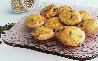 biscuits salés aux trois graines