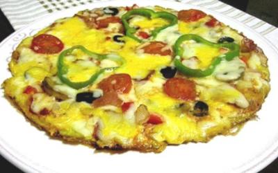 Pizza-omelette