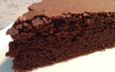 Moelleu au chocolat à base de cacao en poudre