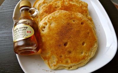 Pancakes au flocons d'avoine