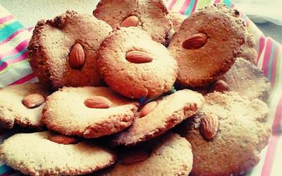 Biscuits amandes vegan (et sans gluten) !