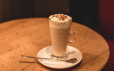 Café frappé au Coaliffe de Merde