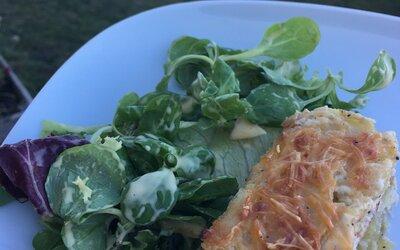 Mini gratin de pommes de terre et saumon