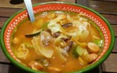 soupe paysanne  ( recette vintage)