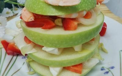 Salade Pomme-Crevette