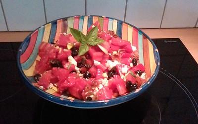 Salade des quatre couleurs