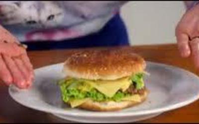 Hamburger oriental