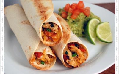 Burritos Mexicains Mix-Grill