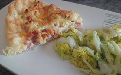 Tarte jambon/poulet