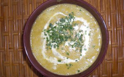 Soupe express aux légumes