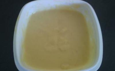 crème patissière expresse au micro-onde