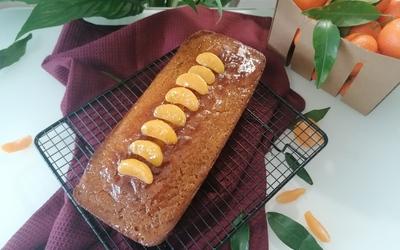 Cake au miel et aux clémentines corses