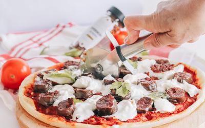 Pizza Burrata Figatelli