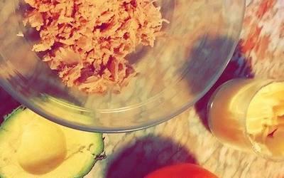 Salade Avocat / Thon / Pamplemousse