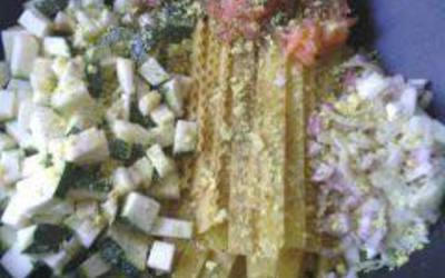 One pot pasta saumon-courgette