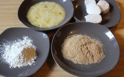 Croquettes de mozzarella