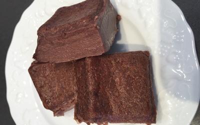Flan light au chocolat