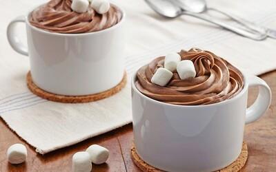 Mug cake au chocolat et marshmallows