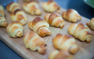 Croissants Saumon - Boursin
