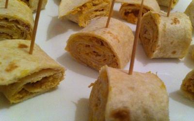 Wraps thon - oeufs - mayo