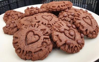 Cookies chocolat-cacahuète