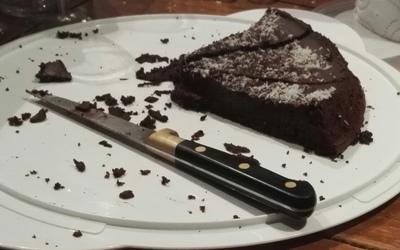Moelleux au chocolat/courgettes sans beurre
