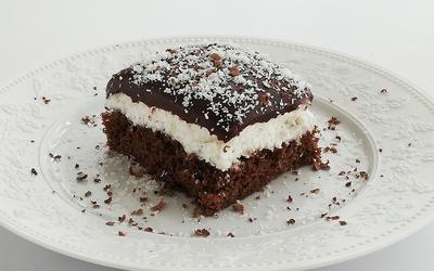 Gâteau au Chocolat et Noix de Coco