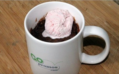Brownie dans une tasse