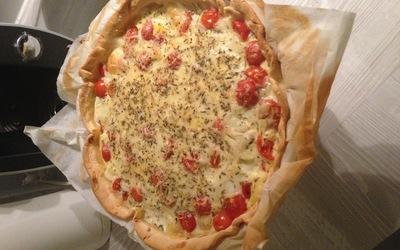 Quiche thon tomates mozarella