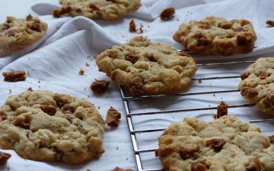 Cookies spéculoos chocolat blanc