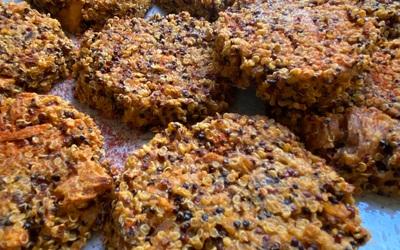 Galettes de quinoa au thon