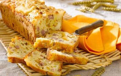 Cake jambon-courgette